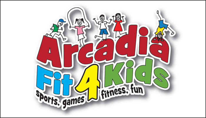 Arcadia Fit 4 Kids Logo