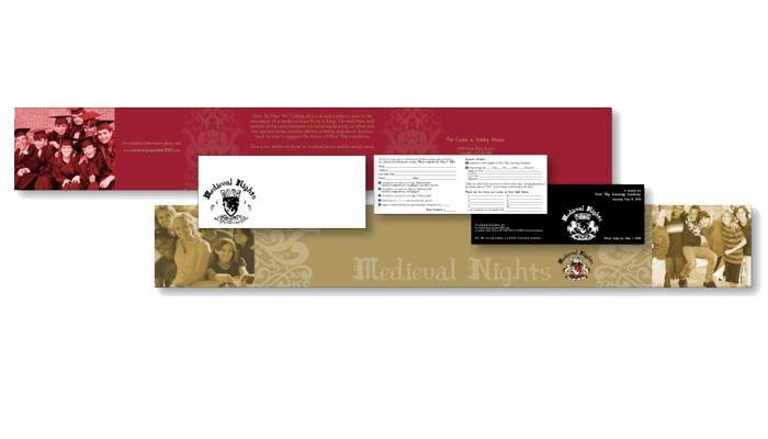 Brochure For Medeival Nights Auction